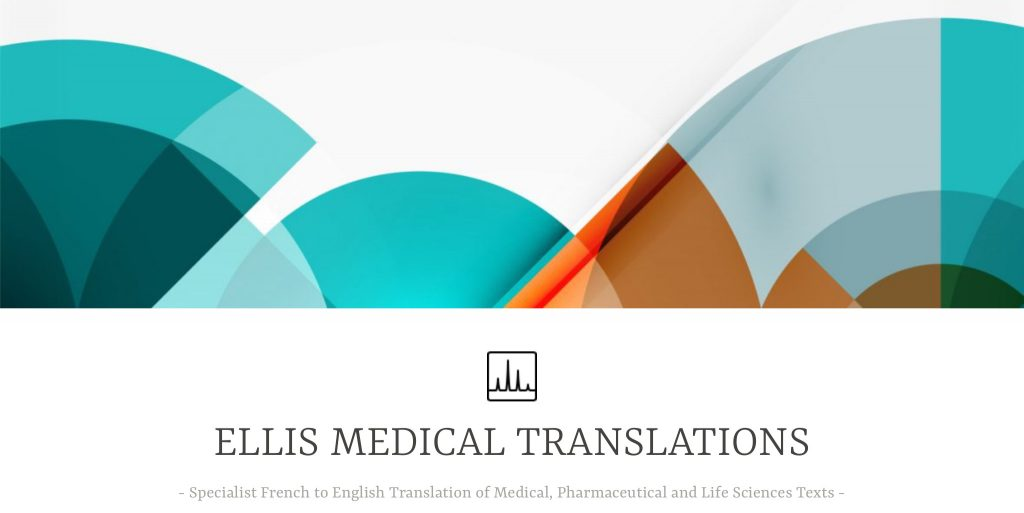 Ellis Medical Translations website